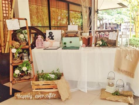 ideas registration registration table wedding details rustic and vintage by