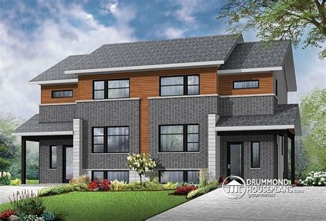modern multi family house plans contemporary 4 unit apartment house plan multi family