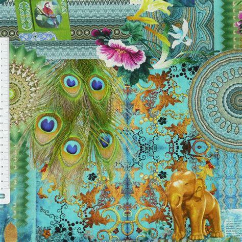 Orientalische Stoffe by 13 54 1qm Baumwollstoff Stoff Dekostoff Digitaldruck