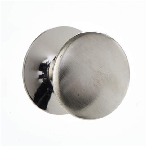 Wilkinsons Door Knobs by Wilko Door Knob Satin Button 25mm Octer 163 1 00