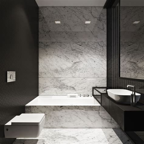 white carrara marble bathroom ideas pictures to pin on m townhouse by igor sirotov architect bathroom marble