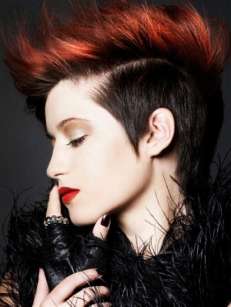 punk hairstyles color short punk hairstyles beautiful hairstyles