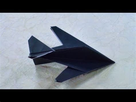 Origami Stealth Fighter - provato origami stealth fighter robert j