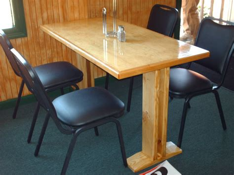 2x4 2x6 4x8 cabinet grade ply pine table by cobra5