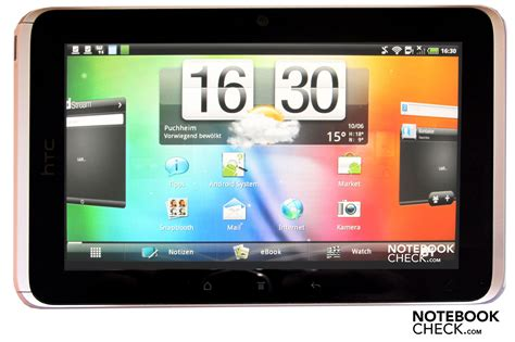 Tablet Android Htc review htc flyer 7 inch wifi 3g tablet mid notebookcheck net reviews