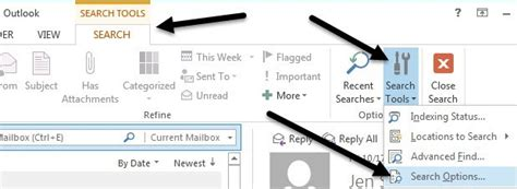 Search Outlook Emails For Keywords Search Outlook Email By Sender Date Keyword Size And More