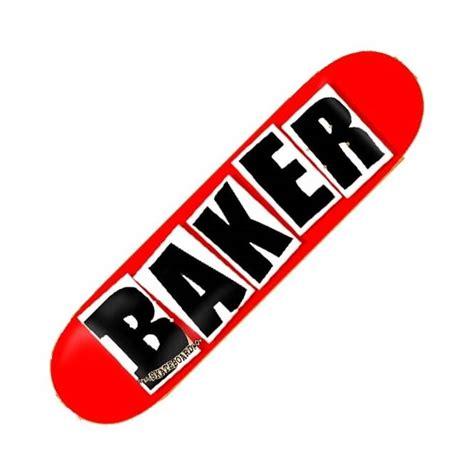 Baker Skateboards baker skateboards brand logo black skateboard deck 8 5