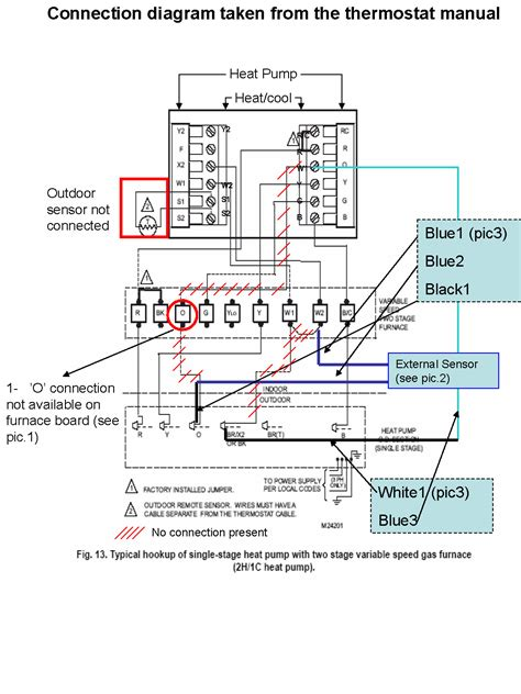 weathertron thermostat wiring diagram weathertron free