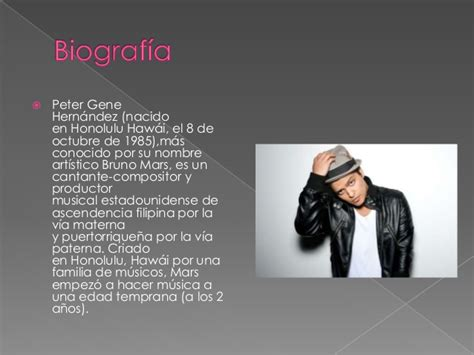 biography de bruno mars en ingles bruno mars