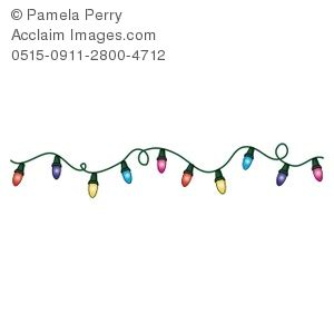 string of lights clipart clipart suggest