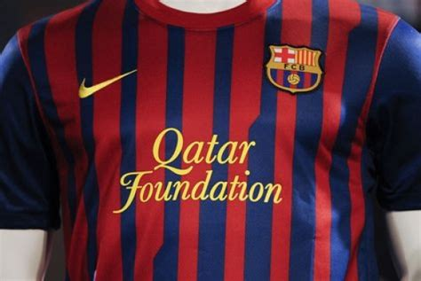 barcelona qatar foundation business fut qatar foundation poder 225 sair do uniforme do
