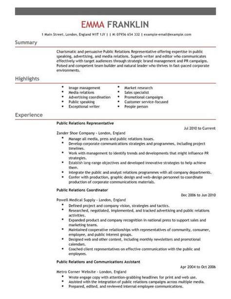 it specialist cv template relations cv template cv sles exles