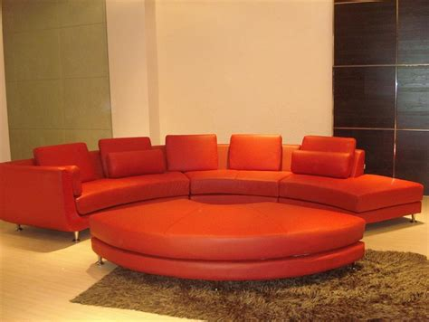 velour sectional sofa modern style sectional sofa curved tos lf 4522 red velour