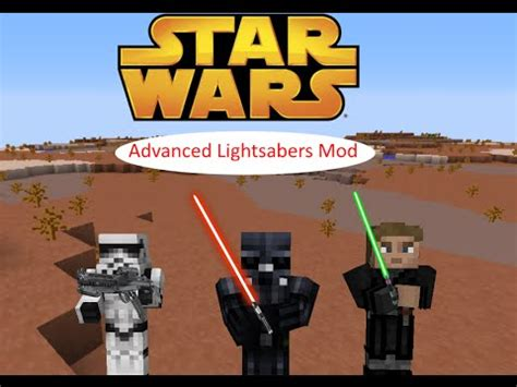 minecraft advanced lightsabers mod wars the awakens mod showcase