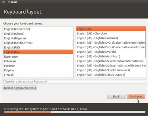keyboard layout gui ubuntu ubuntu 12 04 installation process slide show net gator