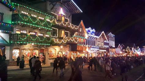 Leavenworth Christmas Lighting Festival Lighting Leavenworth