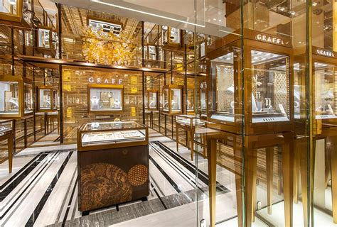 The Room Jewelry by The Opening Of A New Graff Diamonds Boutique Completes The