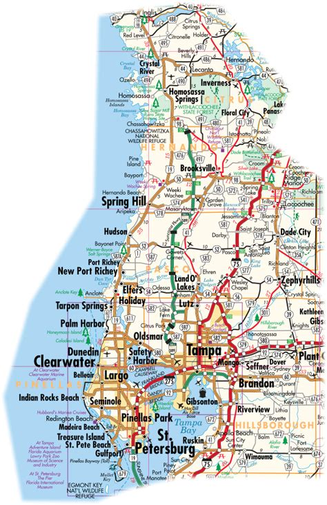 printable online road maps printable map of road map of florida state road map free