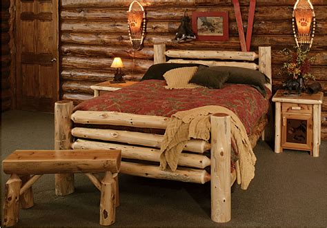 windigo bed rustic furniture mall  timber creek