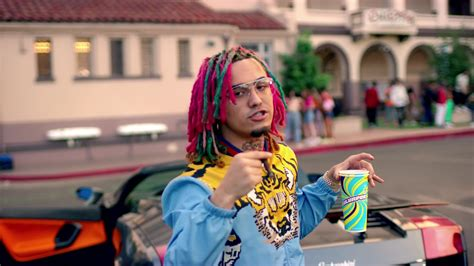 lil pump rock city lil pump is gucci head to toe for his gucci gang visual