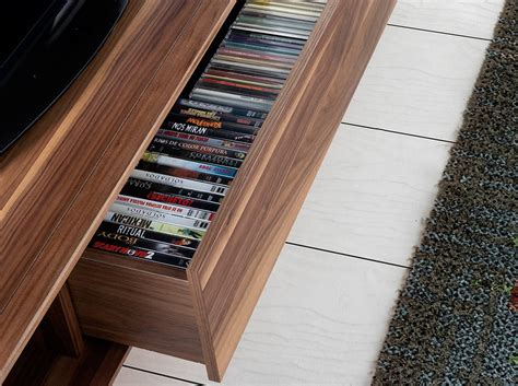 mueble nogal mueble tv de madera chapada en nogal muebles de dise 241 o