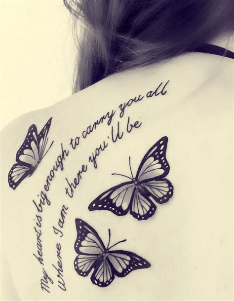 white butterfly tattoo black and white butterfly tattoos