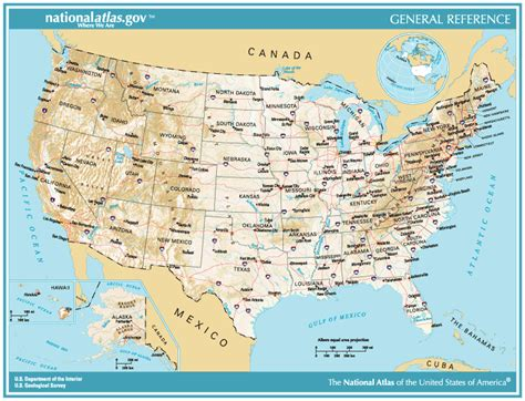 printable topographic map of the united states file national atlas general reference map usa png
