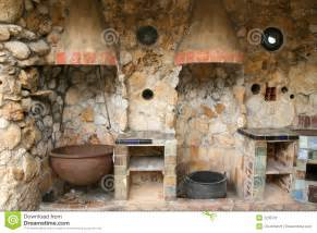 Vintage Style Kitchen Canisters rustic old outdoor kitchen stock image image 2235731
