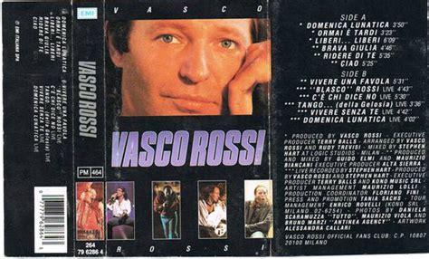 vasco liberi liberi album vasco vasco cassette album at discogs