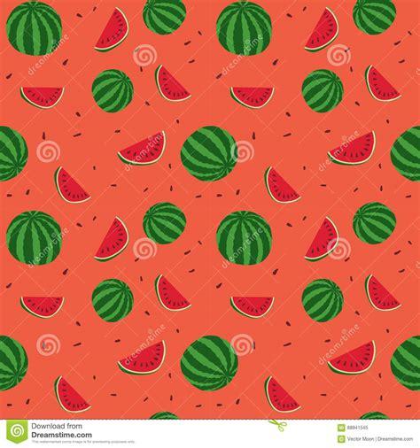 wallpaper cartoon fruit fruits watermelon seamless patterns vector stock vector