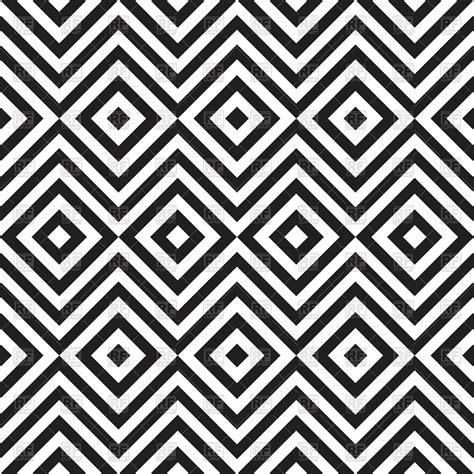 White and black seamless pattern with zig zag and rhombus ... Zig Zag Pattern Clipart