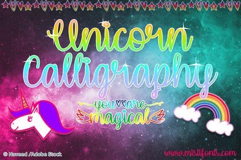 Dafont Unicorn Calligraphy | unicorn calligraphy font dafont com
