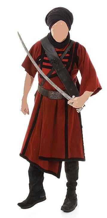 complete thuggee guard costume  indiana jones   te