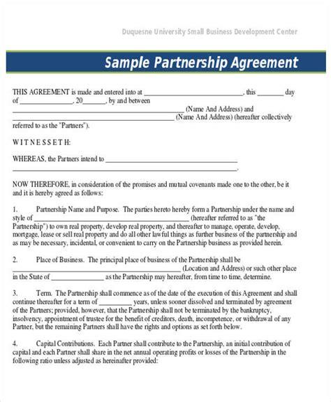 business agreement form business agreement form