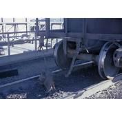 Missouri Kansas And Texas Unit Grain Train With Pulled Drawbar At