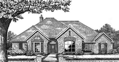 european house plans one story european style house plans 2715 square foot home 1