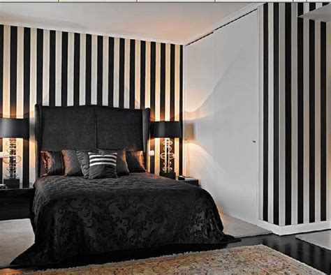 bedroom wallpaper stripes 40 daring striped interiors helping you energize your home