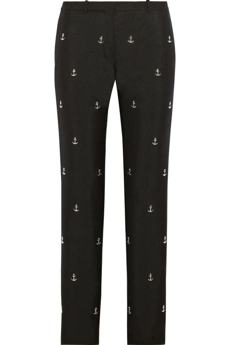 Josephpants With Wool acne studios studs embellished wool and mohair