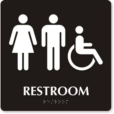 ada bathroom sign braille signs braille door signs