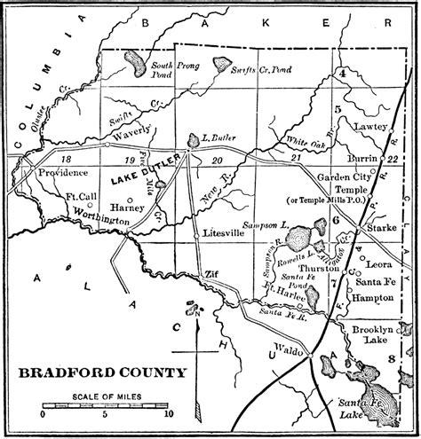 gis city of santa fe bradford county 1890