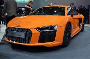 when do new cars get released geneva 2015 2017 audi r8 debuts