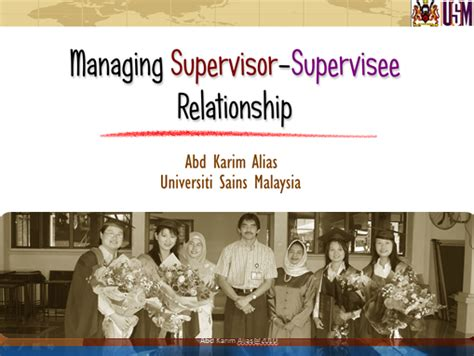 phd student advisor relationship one stop learning managing graduate student supervisor