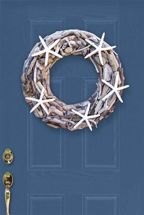How To Make Driftwood Ls by Driftwood Wreath For Sale Cottage Bungalow