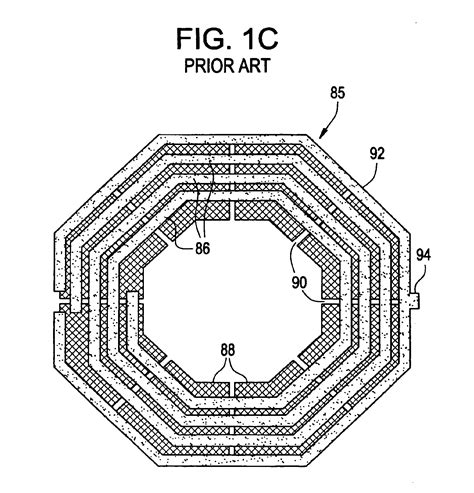 inductor patterned ground shield simulation 28 images patent us6762088 high q inductor with