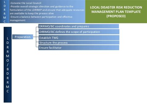 proposed local disaster risk reduction management planning