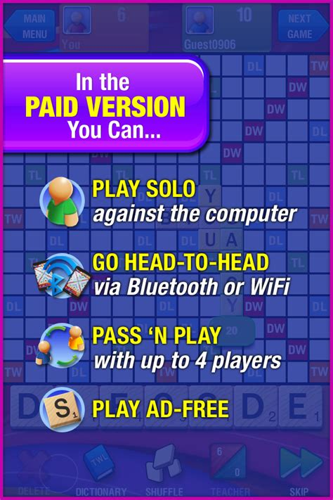 scrabble pass and play scrabble free appzoo dk