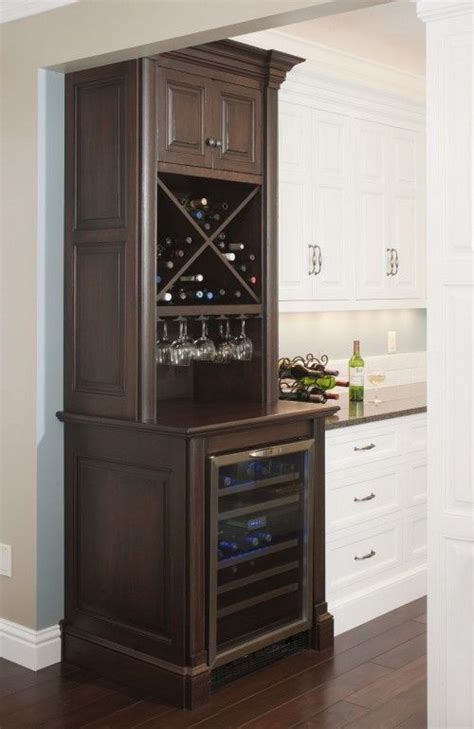 bar cabinet with built in wine cooler 123 best wet bars images on kitchen ideas bar