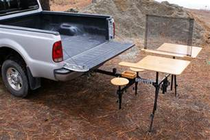 Folding Tailgate Table Hitch Mounted Shooting Bench The Firearm Blogthe Firearm