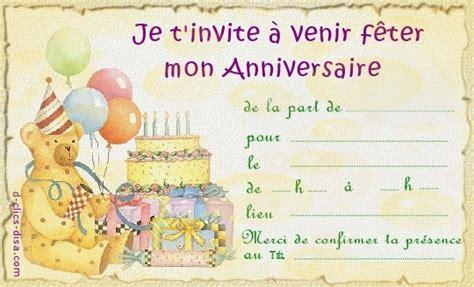 Exemple De Lettre D Invitation D Anniversaire Gratuit Modele De Cartes D Invitation T 233 L 233 Charger Gratuitement