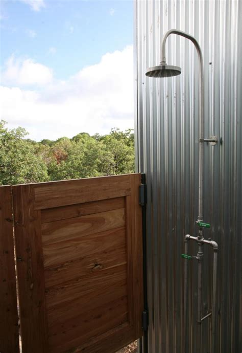 Outdoor Shower Doors Craft1945 Exterior Metals